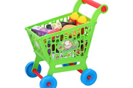 Eddy Toys Παιδικό σετ καρότσι σούπερ μάρκετ 35 τεμαχίων
