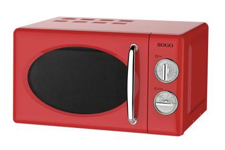 Sogo Φουρνάκι Μικροκυμάτων 700W χωρητικότητας 20L με 5 επίπεδα θέρμανσης