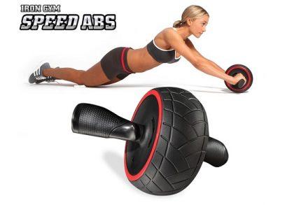 Iron Gym Speed Abs Ρόδα Εκγύμνασης Κοιλιακών