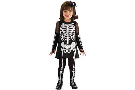 Αποκριάτικη Παιδική Στολή Σκελετός για κορίτσι