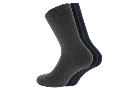 Σετ Ισοθερμικές Ανδρικές κάλτσες 3 τεμαχίων σε 3 χρώματα