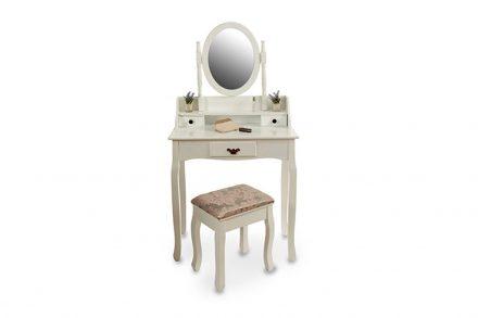 Ξύλινο Έπιπλο Τουαλέτα Κρεβατοκάμαρας με 3 συρτάρια