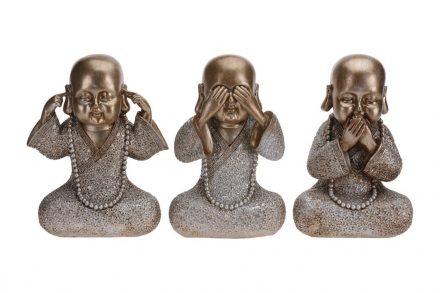 Επιτραπέζια Διακοσμητική Φιγούρα Βούδας σε 3 επιλογές