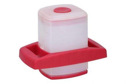 Πλαστικό Κόφτης Πατάτας σε κόκκινο χρώμα
