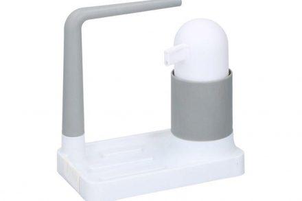 Διανεμητής Σαπουνιού Dispenser με βάση για σφουγγάρι