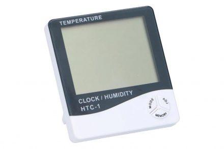 Επιτραπέζιο Ψηφιακό ρολόι Ξυπνητήρι με ένδειξη Θερμοκρασίας και Υγρασίας 5σε1