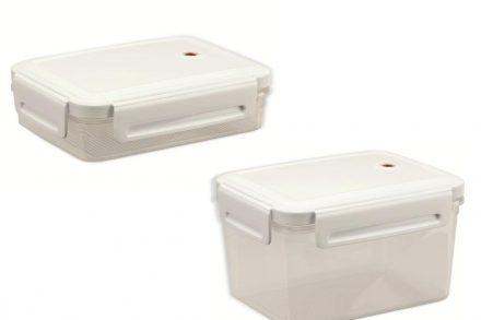 Curver Σετ Φαγητοδοχεία 2 τεμαχίων 1.1L + 2.4L από Πλαστικό BPA free