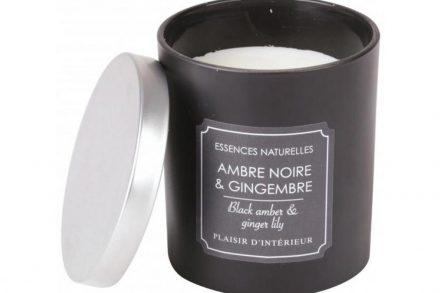 Αρωματικό Κερί Χώρου με άρωμα Black Amber and Ginger Lily
