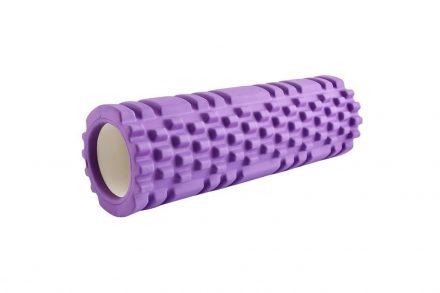 Συμπαγής Κύλινδρος Γυμναστικής για Τεντώματα Foam Roller από Πυκνό αφρώδες υλικό