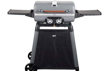 Jamie Oliver Τροχήλατη Ψησταριά Αερίου Barbeque με 2 καυστήρες