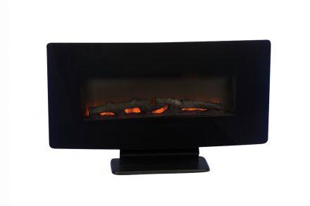 Ηλεκτρικό Τζάκι Δαπέδου ή Τοίχου 1400W με εφέ Φλόγας σε διάφορα χρώματα και τηλεχειριστήριο