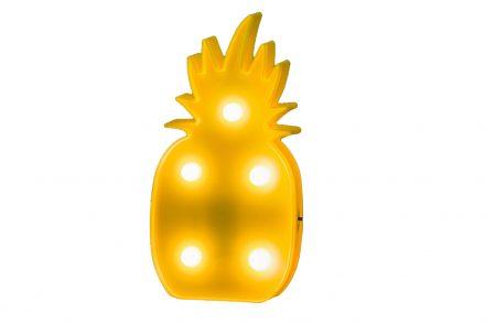 Διακοσμητικό Φωτιστικό Ανανάς LED Λάμπα τοίχου