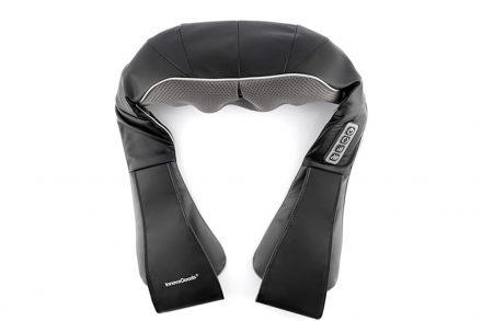 Συσκευή Μασάζ Shiatsu 24W με 3 ταχύτητες σε μαύρο χρώμα