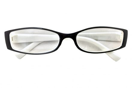 Lifetime Vision Unisex Γυαλιά Πρεσβυωπίας Διαβάσματος με Λεπτό Λευκό-Μαύρο σκελετό και βαθμό +2.50