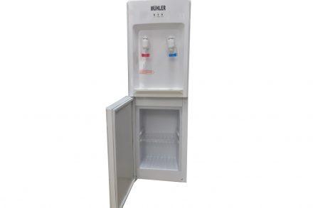 Ψύκτης Νερού επιδαπέδιος για κρύο ή ζεστό νερό με αποθηκευτικό χώρο Water Dispenser με υποδοχή για μπουκάλα εμπορίου