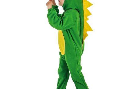 Αποκριάτικη Παιδική Στολή Πράσινο Δεινοσαυράκι - Aria Trade