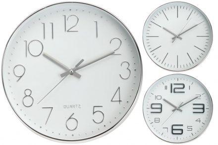 Αναλογικό Διακοσμητικό Ρολόι Τοίχου σε 3 σχέδια με διάμετρο 30 cm - Aria Trade
