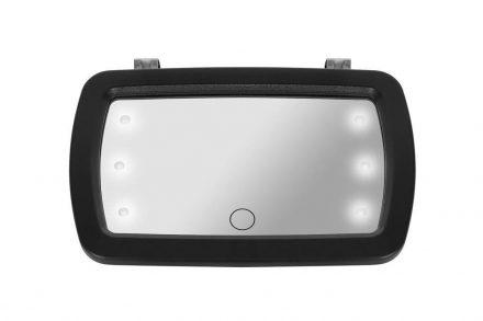Καθρέφτης Αυτοκινήτου με LED φωτισμό για Έλεγχο του Μωρού