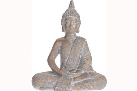 Βούδας διακοσμητικό αγαλματίδιο σε καθιστή θέση - Aria Trade