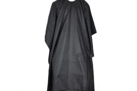 Υφασμάτινη Μπέρτα Κουρέματος σε μαύρο χρώμα