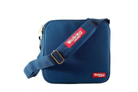 Σετ Φαγητοδοχεία Lunchboxes και Τσάντα Lunchbag 5 τεμαχίων σε μπλε χρώμα