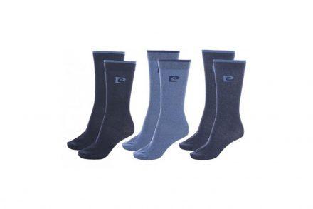 Pierre Cardin Ανδρικές Κάλτσες σετ 6 ζευγαριών σε Μπλε χρώμα - Pierre Cardin