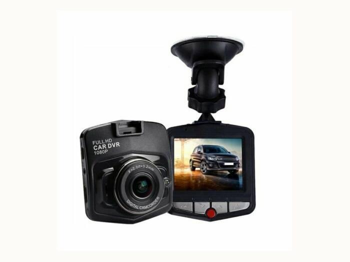 """Καταγραφικό DVR Ψηφιακή Κάμερα Αυτοκίνητου HD με 2.4"""" οθόνη LCD και ενσωματωμένα LED για Νυχτερινή λήψη - Manta"""