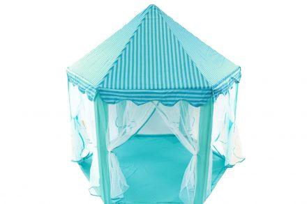 Παιδική Σκηνή Κάστρο Πριγκίπισσας σε μπλε χρώμα