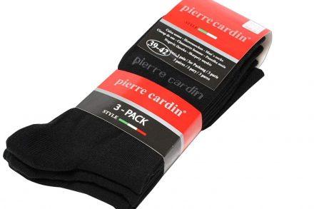 Pierre Cardin Ανδρικές Κάλτσες σετ 3 ζευγαριών σε Μαύρο Χρώμα Νο 39-42 - Pierre Cardin