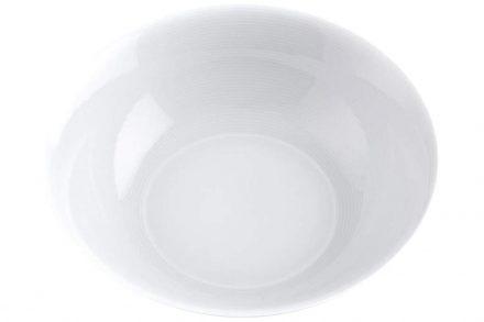 Pierre Cardin Σαλατιέρα από Πορσελάνη διαμέτρου 23 cm σε λευκό χρώμα - Pierre Cardin