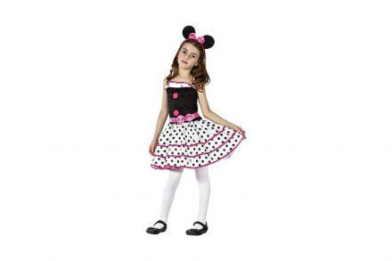 Αποκριάτικη Παιδική Στολή  Ποντικίνα Ροζ - Aria Trade