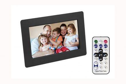 Ψηφιακή Κορνίζα με LCD οθόνη 7 ιντσών και θύρα usb και τηλεχειριστήριο
