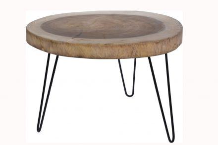 Βοηθητικό στρογγυλό τραπεζάκι σαλονιού side table