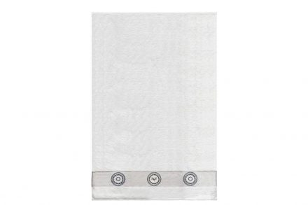 Versace 19.69 Βαμβακερή Πετσέτα Μπάνιου σε λευκό χρώμα