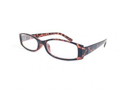 Lifetime Vision Unisex Γυαλιά Πρεσβυωπίας Διαβάσματος με Λεπτό Τετράγωνο Καφέ σκελετό Ταρταρούγα και βαθμό +3.00 - Lifetime Vision