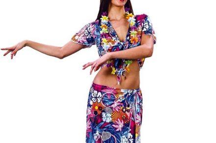 Αποκριάτικη Γυναικεία Στολή Ενήλικα Χαβανέζα One Size - Aria Trade