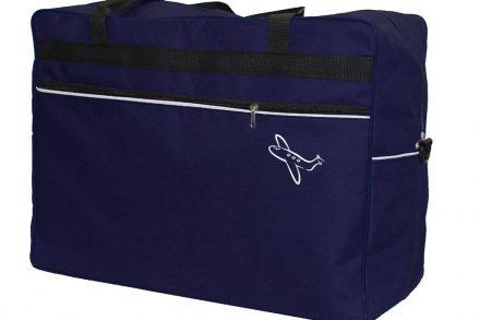 Βαλίτσα Ταξιδίου Χειραποσκευή Καμπίνας Μεσαίου μεγέθους σε μπλε χρώμα