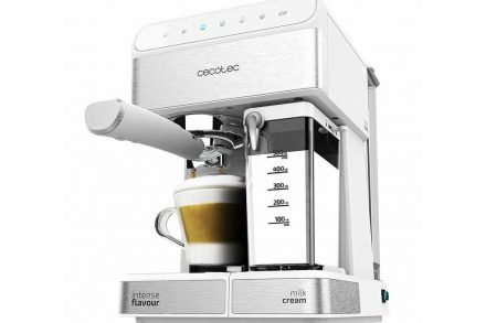 Cecotec Ηλεκτρική Καφετιέρα για όλους τους τύπους καφέ 1350W σε Λευκό χρώμα
