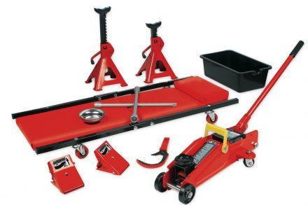 Σετ ξαπλώστρα συνεργείου και εργαλεία επισκευής αυτοκινήτου 10 τεμαχίων