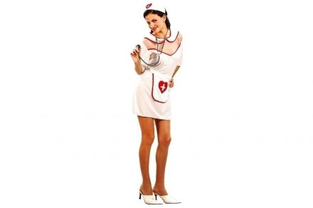 Αποκριάτικη Στολή Ενηλίκων Νοσοκόμα - Aria Trade