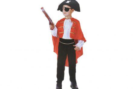 Αποκριάτικη Παιδική στολή Πειρατή με αξεσουάρ σε 3 μεγέθη - Aria Trade