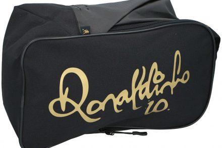 Ronaldinho Τσάντα Ταξιδίου για μεταφορά αθλητικών παπουτσιών σε μαύρο χρυσό χρώμα