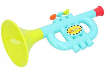 Παιδικό Μουσικό Παιχνίδι Τρομπέτα σε πολύχρωμο χρωματισμό