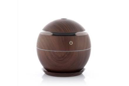 Υγραντήρας και Συσκευή Διάχυσης Αρώματος Dark Walnut χωρητικότητας 130ml