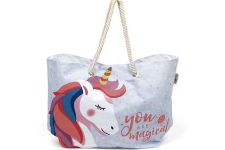 Τσάντα Παραλίας Θαλάσσης Ώμου με θέμα Unicorn