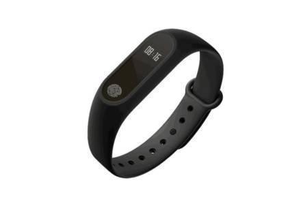 Smartwatch Αδιάβροχο Έξυπνο Ρολόι με ψηφιακή οθόνη αφής σε μαύρο χρώμα