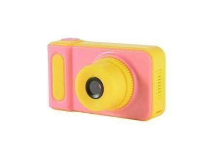 Παιδική Φωτογραφική Μηχανή και Κάμερα με οθόνη LCD σε ροζ χρώμα