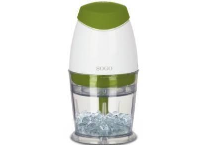 Sogo Μινι Πολυκόφτης Μπλέντερ 160W με χωρητικότητα 250ml σε πράσινο χρώμα