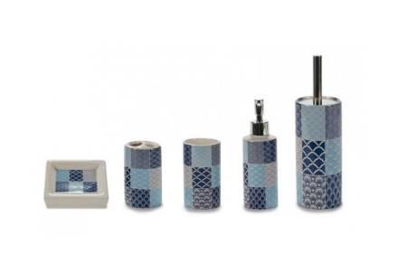 Σετ Αξεσουάρ Μπάνιου 5 τεμαχίων με γεωμετρικά σχέδια σε συσκευασία δώρου - Aria Trade