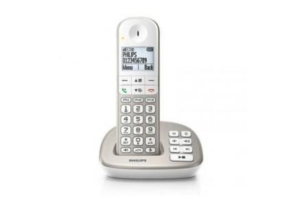 Philips Ασύρματο Επαναφορτιζόμενο Τηλέφωνο με ψηφιακή οθόνη 1